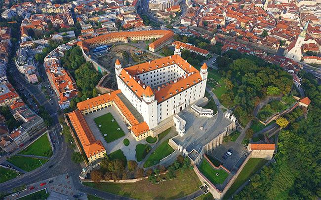 Free tour castillo y catedral Bratislava