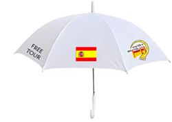 paraguas distintivo
